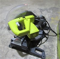 "Ryobi 10"" Compound Miter Saw with Laser-"