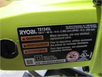 "Ryobi 10"" Compound Miter Saw with Laser-"