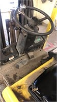 Hyster 35 electric forklift