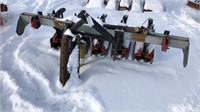 3-POINT 4 ROW MEAAT CULTIVATOR LIGHT DUTY