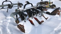 3-POINT 4 ROW MEAAT CULTIVATOR LWITH STEERING &