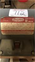 Dayton bench grinder