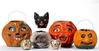 Large selection of Holiday toys and decorations, including Halloween