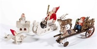 Large selection of Holiday toys and decorations, including Christmas