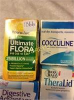 5pc-Assorted Health & Vitamin Lot