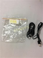 2 pc - AUX Cable & Lightning Cable