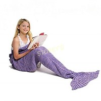 Mermaid Blanket - Purple/Pink