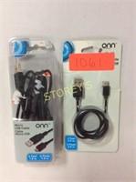 2 pc - Micro USB Cables