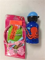 2 pc - Water bottle & Minnie Mouse Headbands