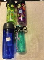 4 Water Bottles