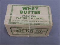 PAULGERS NEWARK CHEESE & BUTTER CO. WRAPPER