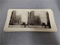 VINTAGE STEREOSCOPE WITH STEREO CARDS