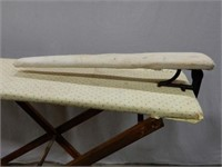 OTTERVILLE MFG. CO. IRONING BOARD WITH SLEEVEBOARD