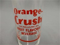 ORANGE CRUSH FOUNTAIN GLASS/ SYRUP MEASURE