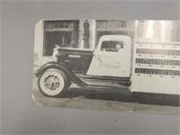 1930'S RICHFIELD COCA-COLA DELIVERY TRUCK POSTCARD