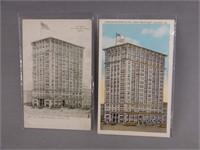 2 CANDLER BUILDINGS, ATLANTA, GA. U.SA  POST CARDS