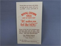 LOT OF 2 7-UP & ROYAL CROWN COLA