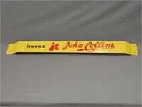 BUVEZ JOHN COLLINS PAINTED METAL PUSH BAR