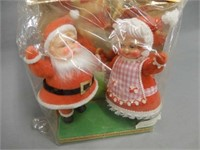 WOOLWORTH CHRISTMAS STORE SANTA CLAUS DECORATIONS