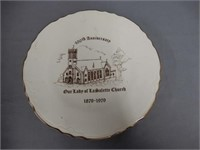 1979 LASALETTE OUR LADY CHURCH COLLECTOR PLATE