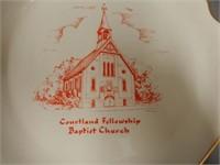 COURTLAND, ONT.  FELLOWSHIP BAPTIST CHURCH PLATE