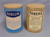 2 VINTAGE MEAD'S PABLUM & PABENA CARDBOARD BOXES