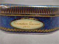 1953 CORONATION SOUVENIR BISCUIT TIN