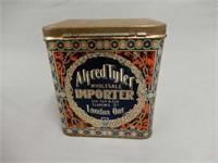 ALFRED TYLER TEA TIN- LONDON ONT.