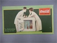 1927 DRINK COCA-COLA  BLOTTER
