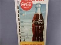 """1957 COCA-COLA """"60 MILLION A DAY"""" BLOTTER"""