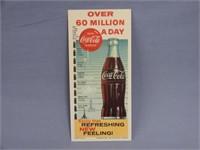 """1960 COCA-COLA """"60 MILLION A DAY"""" BLOTTER"""