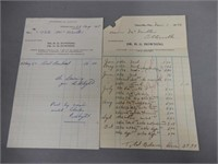 GROUPING OF 48 1940'S +  OTTERVILLE EPHEMERA