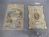 GROUPING OF 9 VINTAGE CARDS