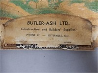 BUTLER ASH CONSTRUCTION OTTERVILLE, ONT. ADV.