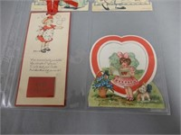 GROUPING OF 11 VINTAGE CARDS