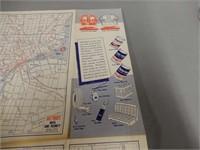 1950'S STANDARD OIL COMPANY MICHIGAN HIGHWAY MAP