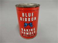 BLUE RIBBON BAKING POWDER 8 OZ. CAN