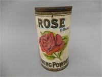 ROSE BRAND BAKING POWDER LB. CAN