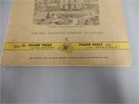 1957 BELL TELEPHONE OF CANADA  PHONE BOOK