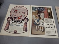 LOT OF 4 EARLY 1900'S 15 CENT LADIES HOME JOURNALS