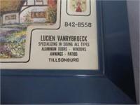 LUCIEN VANRYBROECK TILLSONBURG ADV. THERMOMETER