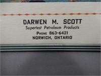 DARWEN M. SCOTT SUPERTEST PRODUCTS THERMOMETER