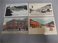LOT OF 18 TILLSONBURG, ONT. COLOR  POST CARDS