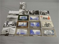 LOT OF 17 VINTAGE NORWICH ONT. POST CARDS