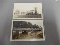 LOT OF 10 OTTERVILLE, ONT. REAL PHOTO POST CARDS