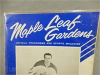 1964  MAPLE LEAF GARDENS 35 CENT OFFICIAL PROGRAM