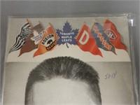 1954 MAPLE LEAF GARDENS 25 CENT OFFICIAL PROGRAM