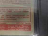 PARKIES MAPLE LEAF 1955-56 RON STEWART HOCKEY CARD