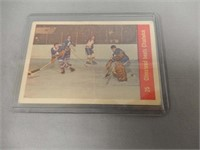 LOT OF 9 MONTREAL & MAPLE LEAF HOCKEY CARDS