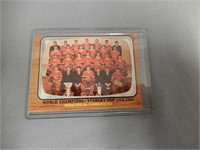 LOT OF 8 1960'S TOPPS HOCKEY CARDS